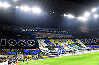 Inter fans cheer on <br /> Milano 6-10-2019 Stadio Giuseppe Meazza <br /> Football Serie A 2019/2020 <br /> FC Internazionale - Juventus FC <br /> Photo Andrea Staccioli / Insidefoto