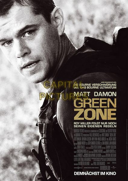 GERMAN POSTER ART.in Green Zone.*Filmstill - Editorial Use Only*.CAP/FB.Supplied by Capital Pictures.
