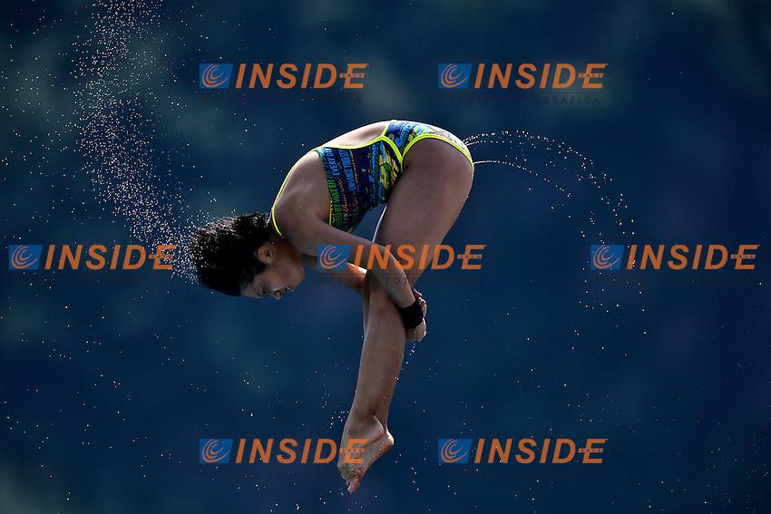 TATSUMI Fuka JPN <br /> Platform women Preliminary - Piattaforma Donne <br /> Bolzano 01-08-2014 <br /> 20 Fina Diving Grand Prix <br /> Photo Andrea Staccioli/Insidefoto