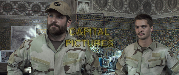 Bradley Cooper, Luke Grimes<br /> in American Sniper (2014) <br /> *Filmstill - Editorial Use Only*<br /> CAP/FB<br /> Image supplied by Capital Pictures