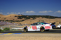 Jun. 21, 2009; Sonoma, CA, USA; NASCAR Sprint Cup Series driver Dale Earnhardt Jr during the SaveMart 350 at Infineon Raceway. Mandatory Credit: Mark J. Rebilas-