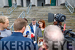 Denise Taylor Greenaway, mother of Caitlin Taylor at Tralee Court on Thursday.