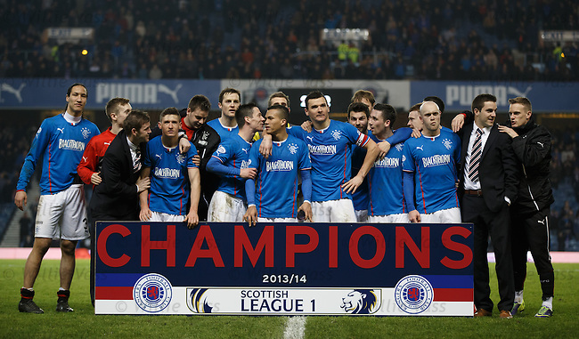 Rangers win SPFL League One