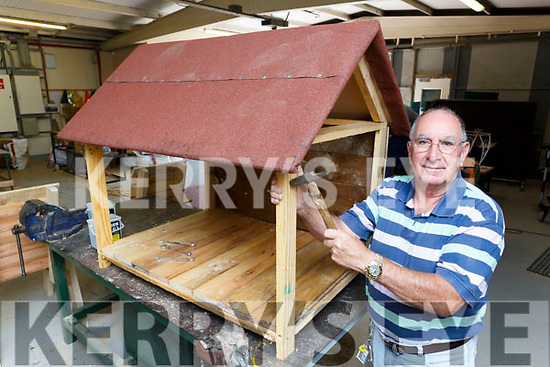 Tom Douglas keeping busy in the Killarney Mens shed