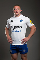 Sam Underhill poses for a photo during a Bath Rugby photoshoot on August 9, 2017 at Farleigh House in Bath, England. Photo by: Rogan Thomson for Onside Images