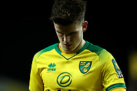 1st January 2020; Carrow Road, Norwich, Norfolk, England, English Premier League Football, Norwich versus Crystal Palace; A dejected Sam Byram of Norwich City as his team let in a late equaliser - Strictly Editorial Use Only. No use with unauthorized audio, video, data, fixture lists, club/league logos or 'live' services. Online in-match use limited to 120 images, no video emulation. No use in betting, games or single club/league/player publications