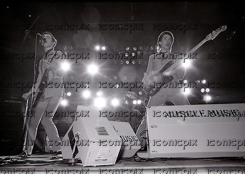 THE JAM - performing live at Wembley Arena London UK - 29 Nov 1978.  Photo credit: George Bodnar Archive/IconicPix