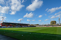 General view of the ground ahead of Crawley Town vs MK Dons, Sky Bet EFL League 2 Football at Broadfield Stadium on 3rd November 2018