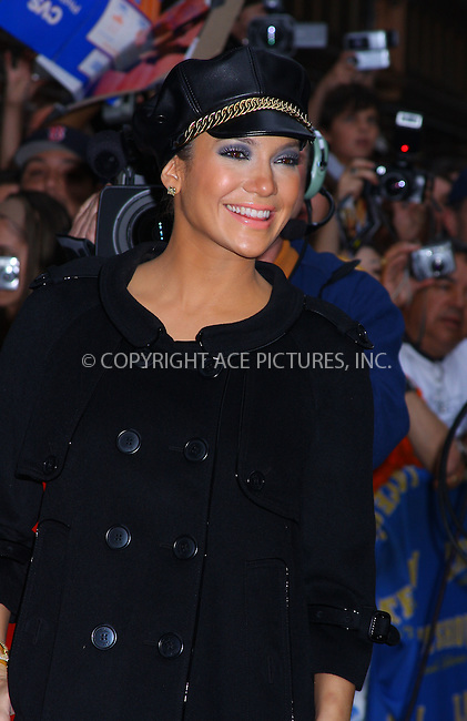 WWW.ACEPIXS.COM . . . . .....October 9, 2007. New York City.....Actress Jennifer Lopez arrives at the 'Late Show with David Letterman' at the Ed Sullivan Theater...  ....Please byline: AJ SOKALNER- ACEPIXS.COM..... *** ***..Ace Pictures, Inc:  ..Philip Vaughan (646) 769 0430..e-mail: info@acepixs.com..web: http://www.acepixs.com