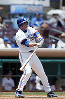 May 30 2007: Russell Mitchell of the Inland Empire 66'ers bats against the Rancho Cucamonga Quakes at Arrowhead Credit Union Park in San Bernardino,CA.  Photo by Larry Goren/Four Seam Images