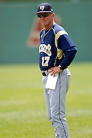 Georgia Tech Head Coach Danny Hall prior to a game vs. Boston College at Shea Field on May 22, 2010 in Chestnut Hill, MA (Photo by Ken Babbitt/Four Seam Images)