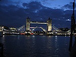 London Bridge, London, England, UK, night, evening, sky, unique, original, nature, hotel decor, corporate decor, beauty, natural light, serenity, spiritual, calm, peace, stillness, meditation, escape, escapism, beautiful,  purple, blue, tourism, artistic, Europe, reflection, water, clouds, Thames River