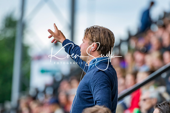AMSTELVEEN - Marc Jan Derksen (SCHC) finale Den Bosch MA1-SCHC MA1 4-1. Den Bosch wint de titel Meisjes A . finales A en B jeugd  Nederlands Kampioenschap.  COPYRIGHT KOEN SUYK