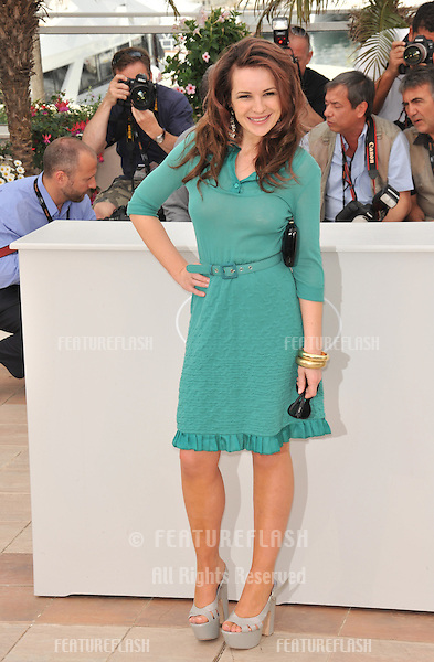 "Kierston Wareing at the photocall for her new movie ""Fish Tank"" which is in competition at the 62nd Festival de Cannes..May 14, 2009  Cannes, France.Picture: Paul Smith / Featureflash"