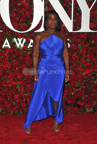 NEW YORK, NY - JUNE 12: Uzo Aduba at the 70th Annual Tony Awards at The Beacon Theatre on June 12, 2016 in New York City. Credit: John Palmer/MediaPunch