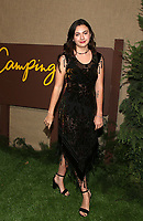 HOLLYWOOD, CA - OCTOBER 10: Rhiannon Wryn, at The Los Angeles Premiere of HBO's Camping at Paramount Studios in Hollywood, California on October 10, 2018. Credit: Faye Sadou/MediaPunch
