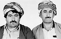 Iraq 1979 .Left Hama Haji Mahmoud  .Irak 1979 .A gauche Hama Haji Mahmoud