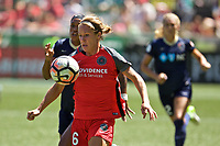 Portland, OR - Saturday July 15, 2017: Mallory Weber during a regular season National Women's Soccer League (NWSL) match between the Portland Thorns FC and the North Carolina Courage at Providence Park.