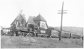 RGS #20 (D&amp;RG #260) with excursion train.<br /> RGS  Ridgway, CO  5/1947