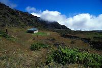 Holua cabin at Haleakala national park, Maui