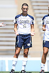 28 August 2011: Notre Dame's Mandy Laddish. The Duke University Blue Devils defeated the Fighting Irish of Notre Dame 3-1 at Fetzer Field in Chapel Hill, North Carolina in an NCAA Women's Soccer game.