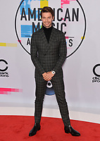Patrick Schwarzenegger at the 2017 American Music Awards at the Microsoft Theatre LA Live, Los Angeles, USA 19 Nov. 2017<br /> Picture: Paul Smith/Featureflash/SilverHub 0208 004 5359 sales@silverhubmedia.com