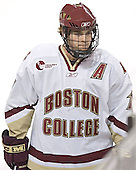 Chris Collins - The Boston College Eagles and Ferris State Bulldogs tied at 3 in the opening game of the Denver Cup on Friday, December 30, 2005, at Magness Arena in Denver, Colorado.  Boston College won the shootout to determine which team would advance to the Final.