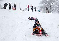 DEC 10 Snow Fun in Thrapston