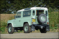 BNPS.co.uk (01202 558833)<br /> Pic: SilverstoneAuctions/BNPS<br /> <br /> Cunning Rowan Atkinson is expected to turn a quick profit when he sells his two-year-old Land Rover for more than he paid for it. <br /> <br /> The Mr Bean star spent around &pound;30,000 on the special edition Defender new but is now set to pocket &pound;45,000 after putting it up for auction. <br /> <br /> This isn't the first time Atkinson has shown shrewd business acumen - in 2015 he sold his &pound;640,000 1997 McLaren F1 for a whopping &pound;8million. <br /> <br /> Now he is offering up the Land Rover shown here, which was launched to mark the end of the Defender's 67 year production run. <br /> <br /> The self-confessed car nut couldn't resist the opportunity to purchase a piece of Land Rover memorabilia, which is one of only 400.
