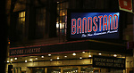 during the Broadway Opening Night Curtain Call Bows of 'Bandstand' at the Bernard B. Jacobs Theatre on 4/26/2017 in New York City.