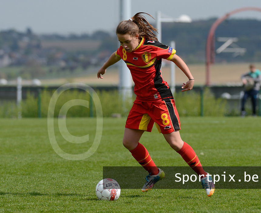 U 15 Belgian Red Flames - Virginia USA :<br /> <br /> Ellen Knockaert<br /> <br /> foto Dirk Vuylsteke / Nikonpro.be