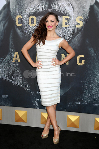 "HOLLYWOOD, CA - MAY 8: Karina Smirnoff at the premiere Of Warner Bros. Pictures' ""King Arthur: Legend Of The Sword"" at the TCL Chinese Theatre In California on May 8, 2017. Credit: David Edwards/MediaPunch"