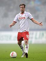 Fussball 2. Bundesliga:  Saison   2012/2013,    14. Spieltag  TSV 1860 Muenchen - 1. FC Koeln  16.11.2012 Matthias Lehmann (1. FC Koeln)