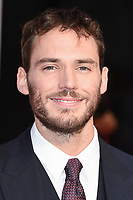 "Sam Claflin<br /> arriving for the London Film Festival 2017 screening of ""Journey's End"" at the Odeon Leicester Square, London<br /> <br /> <br /> ©Ash Knotek  D3320  06/10/2017"