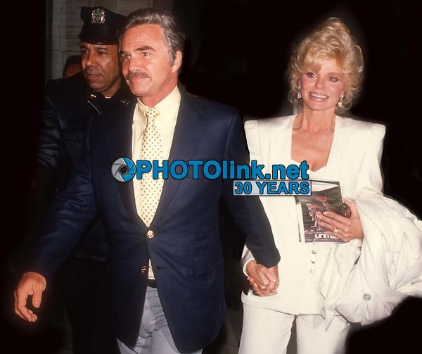 Burt Reynolds Lonnie Anderson Undated<br /> Photo By John Barrett/PHOTOlink