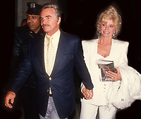 Burt Reynolds Lonnie Anderson Undated<br /> Photo By John Barrett/PHOTOlink