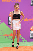 LOS ANGELES, CA July 13- Lauren Riihimaki, At Nickelodeon Kids' Choice Sports Awards 2017 at The Pauley Pavilion, California on July 13, 2017. Credit: Faye Sadou/MediaPunch