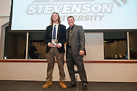 Stevenson men's lacrosse held their 12th annual kick off banquet at Rockland Hall, where they gave out awards from last season and introduced this year's team.