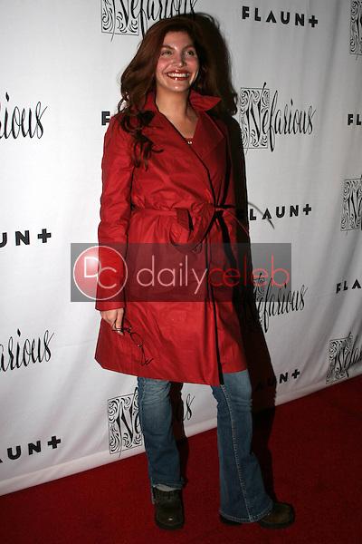 Jenna Mattison<br /> at Flaunt Magazine Presents Nefarious Fine Jewelry Hosted by Velvet Revolver, Black Steel Restaurant, Hollywood, CA. 04-06-06<br /> Marty Hause/DailyCeleb.com 818-249-4998