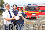 THINK SAFETY: Maurice O'Connell, Tim Kelleher and Mary Quirke from Tralee Fire Station are asking people to be aware of fire and safety precautions which can be used in the home especially for Fire Safety Week from Monday October 7th to Sunday October 13th.