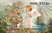 Dona Gelsinger, CHILDREN, KINDER, NIÑOS, paintings+++++,USGE0713W,#k#, EVERYDAY ,angels