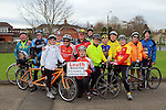 7 tandom bikes were involved in the Operation Transformation 10km cycle from Ardee Parish Centre.
