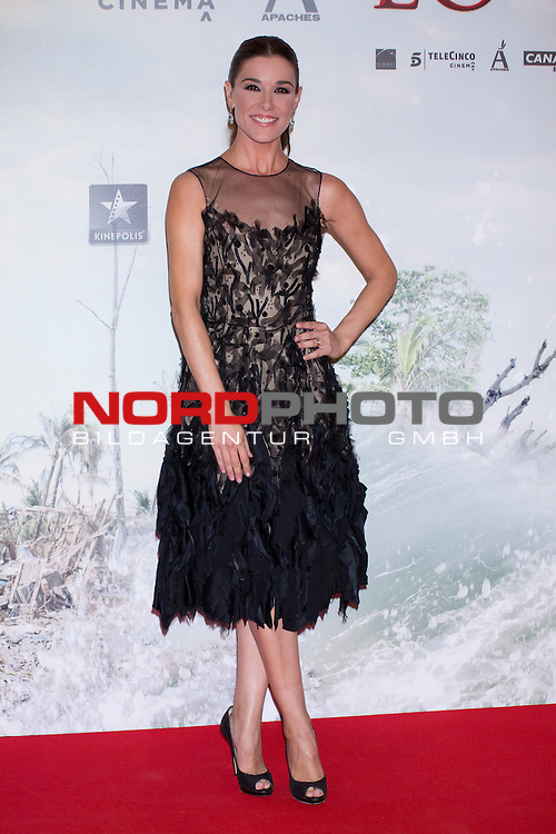 08.10.2012. Celebrities attend  the premiere of Kinepolis Cinema in Madrid of the movie 'The Impossible'. Directed by Juan Antonio Bayona and starring by  Naomi Watts and Tom Holland. In the image Raquel Sanchez Silva Foto © nph / Marta Gonzalez) *** Local Caption ***