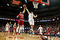 December 14, 2013: Terran Petteway (5) of the Nebraska Cornhuskers and Melvin Johnson III (31) of the Arkansas State Red Wolves going for a rebound at the Pinnacle Bank Areana, Lincoln, NE. Nebraska defeated Arkansas State 79 to 67.