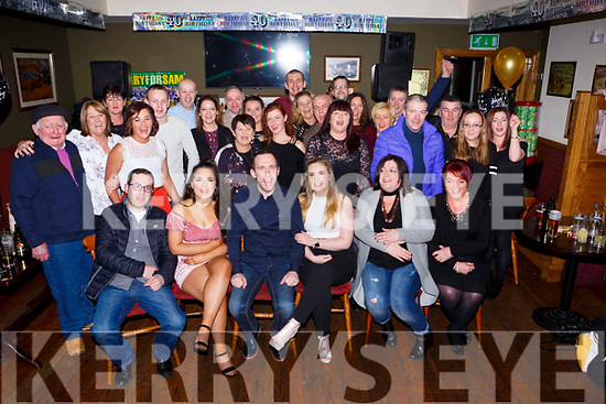 Anthony O'Gorman, Killarney celebrated his 40th birthday with his family and friends in the Sportsman bar Killarney on Saturday night