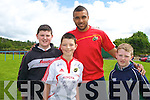 Simon Zebo with Robbie Murphy, Daire Kennelly and Luke Murphy.