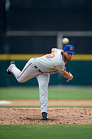 St. Lucie Mets relief pitcher Cameron Griffin (39) delivers a pitch during the first game of a doubleheader against the Lakeland Flying Tigers on June 10, 2017 at Joker Marchant Stadium in Lakeland, Florida.  Lakeland defeated St. Lucie 6-5 in fourteen innings.  (Mike Janes/Four Seam Images)