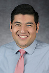Oscar Sanchez Cid del Prado, Admission Counselor, Enrollment Management and Marketing, DePaul University, is pictured in a studio portrait Monday, December 05, 2016. (DePaul University/Jeff Carrion)