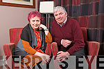 Journalist Mary Kenny and Fr Pat Moore at the Kerry Diocesan Assembly at the Brehon on Wednesday.