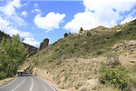 The final Cat 1 climb up to Observatorio Astrofisico de Javalambre during Stage 5 of La Vuelta 2019 running 170.7km from L'Eliana to Observatorio Astrofisico de Javalambre, Spain. 28th August 2019.<br /> Picture: Eoin Clarke | Cyclefile<br /> <br /> All photos usage must carry mandatory copyright credit (© Cyclefile | Eoin Clarke)